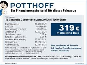Volkswagen T6 Caravelle Comfortline Lang 2,0 DSG TDI
