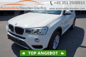 BMW X3 xDrive20d Advantage-Navi-Leder-HiFi-Kamera-