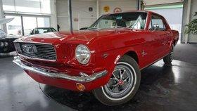 FORD Mustang 66er  289 cui C Code V8.H-Kenzeichen-