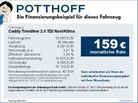 Volkswagen Caddy Trendline 2,0 TDI Navi/Klima