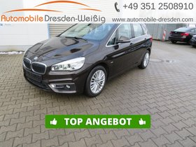 BMW 218 Active Tourer d Luxury Line-Navi-HeadUp-Pano