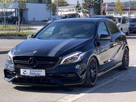 Mercedes-Benz A 45 AMG Yellow Night Edition Aerodynamik -VOLL-