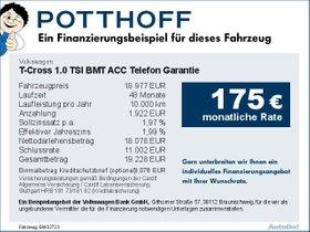 Volkswagen T-Cross 1,0 TSI BMT ACC Telefon Garantie