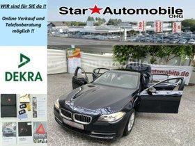 BMW 520d-Bi-XENON-SCHIEBE/HEBEDACH-VOLLLEDER-PDC-EU6