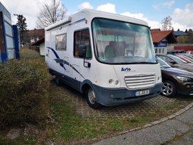 Wohnmobil Niesmann   Bischoff Arto 59B Original 52534 km Klima Markise Fahrradständer