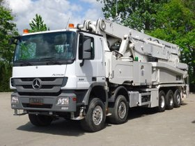 Mercedes-Benz ACTROS 5051 10x4 E5 Betonpumpe PUTZMEISTER 52M