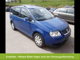 VW Touran Conceptline 1.9TDI 7-Sitzer Navi Klimaaut
