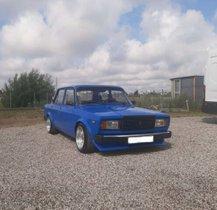 LADA 2107 Blau Hübscher 2107