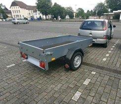 Anhänger,Tieflader 750 Kg. Ideal für Quad und PKW