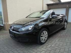 VW Golf VI Cabriolet Klima SHZ