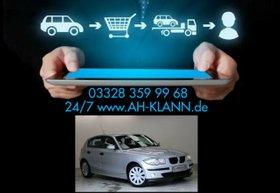 BMW  118d 122PS 6 Gang Klimaanlage Euro4 Radio DPF