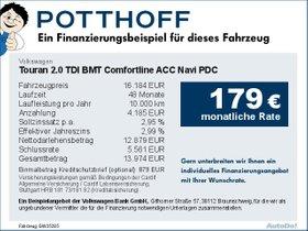 Volkswagen Touran 2,0 TDI BMT Comfortline ACC Navi PDC