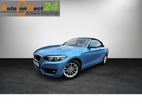 BMW 218i Cabrio Advantage -el.Verdeck/LED/PDC/SHZG/Alu-