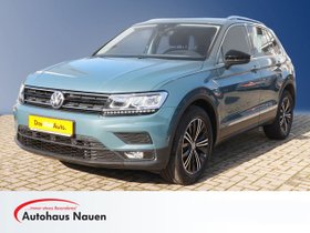 VW Tiguan 2.0 TDI IQ Drive DSG Navi LED ACC DCC Standheizung Ganzjahresreifen