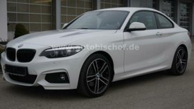 BMW 2er 220 d Coupe M Sport Autom. LED Navi DAB