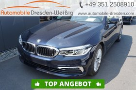 BMW 520 d Touring Luxury Line-Navi-Leder-HiFi-AHK-