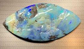 Australischer Boulder Opal von sagenhaften 155 Karat - beinahe vollständig ausopalisiert!!