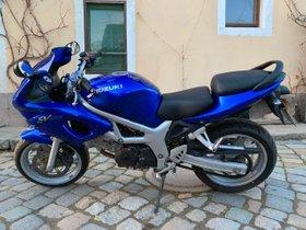 Kraftrad Motorrad Suzuki SV 650S, blau - Sporttourer/ TÜV ist neu