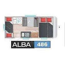 CARAVELAIR 486 ALBA Family  XL Kühl. Stockbett  Therme