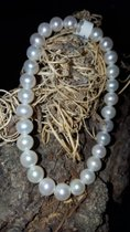 Armband - Zugband mit feinsten Perlen