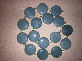 Collier aus Amazonit und grüner Fluorid