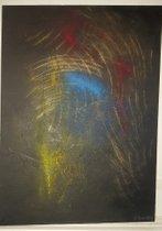 Abstraktion 64, AL BERNSTEIN 1990 MÜNCHEN