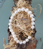 Perlenarmband mit 585 Goldsteckverschluss - Ein Traum