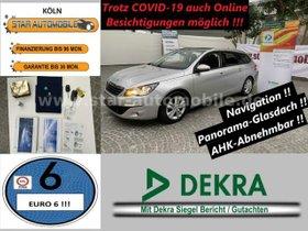 PEUGEOT 308SW Blue HBI-PDACH-AHK-RFK-PDC-START/STOPP-EU6