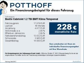 Volkswagen Beetle Cabriolet 1,2 TSI BMT Klima Tempomat