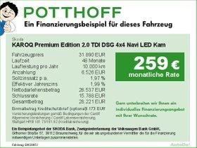 Skoda KAROQ Premium Edition 2,0 TDI DSG 4x4 Navi LED