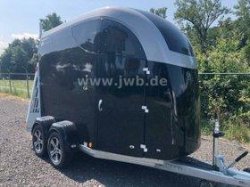 BUECKER TRAILER Pferde Careliner M schwarz/silber NP14t