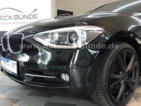 BMW 120d Sport Line Leder/Xenon/GSHD/Keyless/Aut