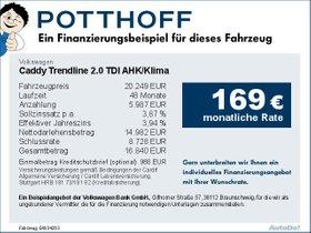 Volkswagen Caddy Trendline 2,0 TDI AHK/Klima