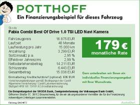 Skoda Fabia Combi Best Of Drive 1,0 TSI LED Navi Kamera