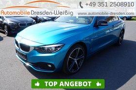 BMW 420 d xDrive Sport Line-Navi-HiFi-DAB-Leder-LED-
