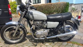 Yamaha XS 650 Vintage wunderschöne Rarität im 1970er Style