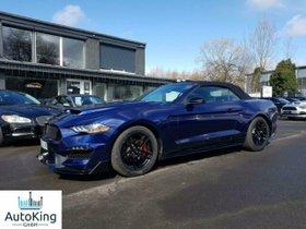 FORD Mustang Cabrio 2.3 Eco Boost Leder Navi Blau