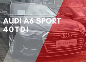 AUDI A6 Avant Sport 40 TDI MATRIX LED 360° Tourpaket