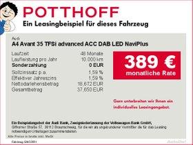 Audi A4 Avant 35 TFSi advanced ACC DAB LED NaviPlus