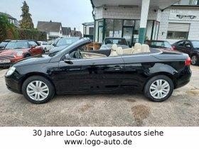 VW Eos 2.0 FSI Prins LPG Autogas = 60 Cent tanken!