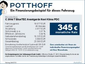 Mercedes-Benz C 200d T BlueTEC Avantgarde Navi Klima PDC