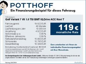 Volkswagen Golf Variant 7 VII 1,0 TSI BMT IQ.Drive ACC Navi