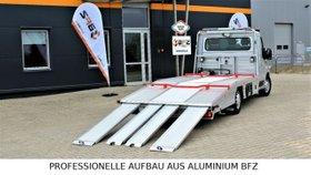 FIAT Aluminium Aufbau BFZ Fahrzeugtransporter
