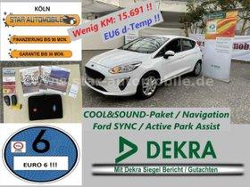FORD Fiesta Trend1,1-RFK-NAVI-COOL&SOUND 4-EU6 D-TEMP