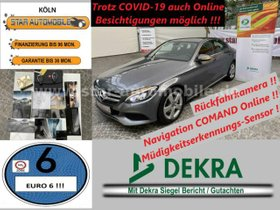 MERCEDES-BENZ C 220 BlueTEC / d-LED-RFK-AVANTGARDE-LEDER-EU6!-