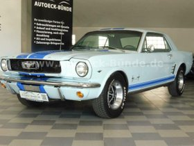 FORD Mustang Coupe C-Code V8 289cui 4.7l H-Zulassung