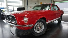 FORD Mustang V8 COUPE 289CUI-SERVO-AUTOMATIK-H-KEN.