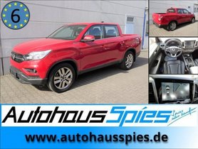 SSANGYONG MUSSO 2,2 E-XDI 4WD MT EURO6 SAPPHIRE SAFETY PAKET ALU20