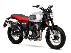 SWM Grand Milano Outlaw 125 (E5) Motorrad / Scrambler