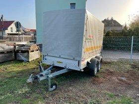 Doppelachser Tandemanhänger Humbaur 253015 2.500 kg